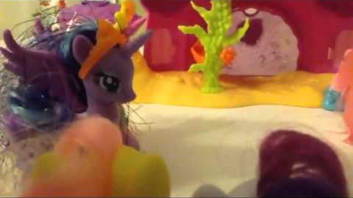 My little pony 5 сезон 25 серия Искорка снова принцесса!