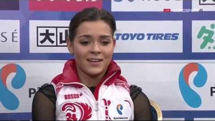 2015 Rostelecom Cup - Adelina Sotnikova FS B.ESP