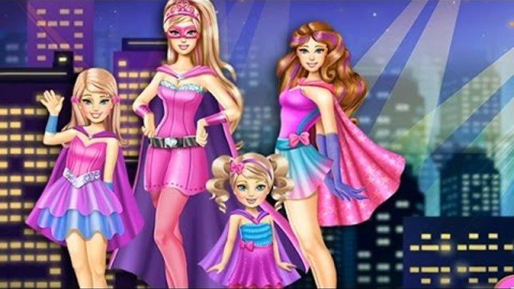 NEW Игры для детей—Супер Барби и ее сестры—мультик для девочек