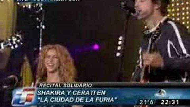Shakira e Gustavo Cerati - La ciudad de la furia