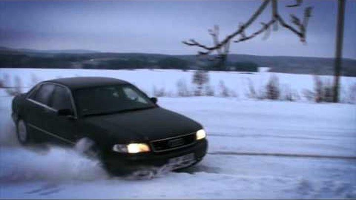 A8 4.2 V8 220 kW, quattro & Octavia II 2.0FSi 110 kW, 4x4 on snow