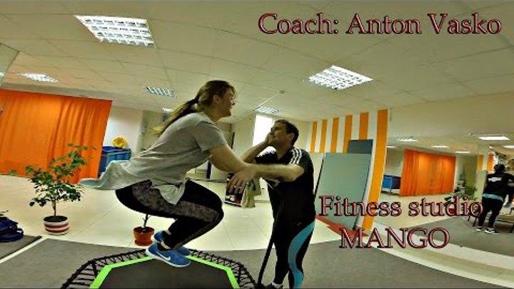 "Fitness studio ""MANGO"" | Sky Jumping | Coach: Anton Vasko | on may 13 invited demonstration"