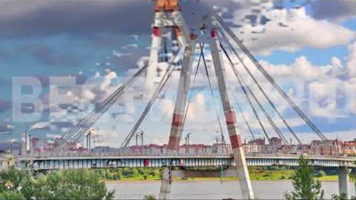 Опасные развлечения: в Череповце с Октябрьского моста вновь сняли подростков