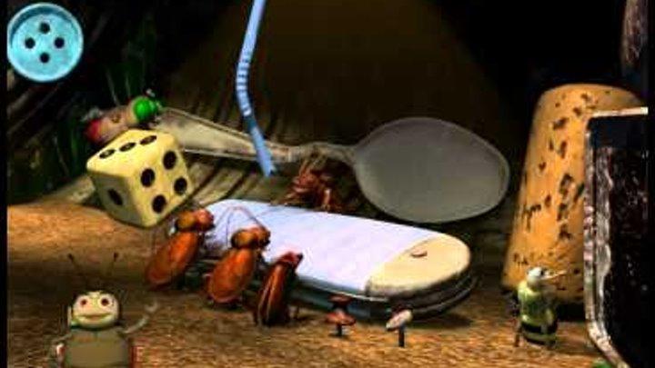 Приключения флика муравей - изобритатель Дисней пиксар Проходение видео игры на PC