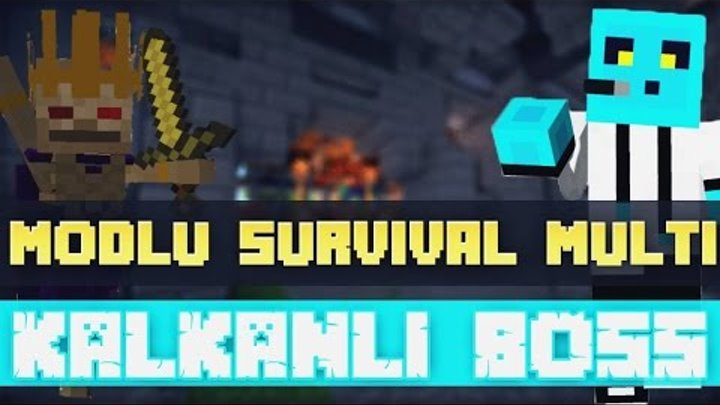 Sezon 4 Minecraft Modlu Survival Multi Bölüm 9 - Kalkanlı Boss