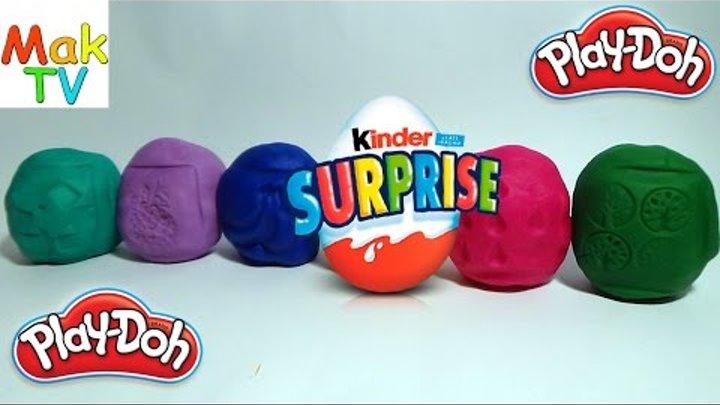 Много яиц Плей До Киндер Сюрприз Видео для детей Many Play Doh Eggs kinder Surprise Video for kids