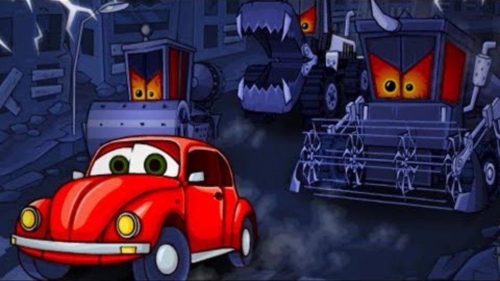 Хищные машины Машина ест машину Car Eats Car #13 мультик игра про красную машинку #КИД