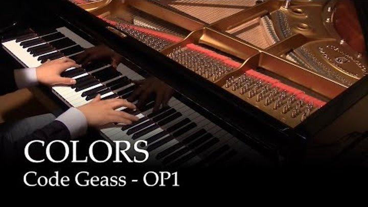 [400k subs special] COLORS - Code Geass OP1 [piano]