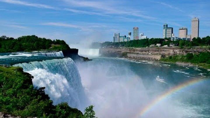 Incredible Niagara Falls - Inside the boat, Maid of the Mist and Cave of the Winds