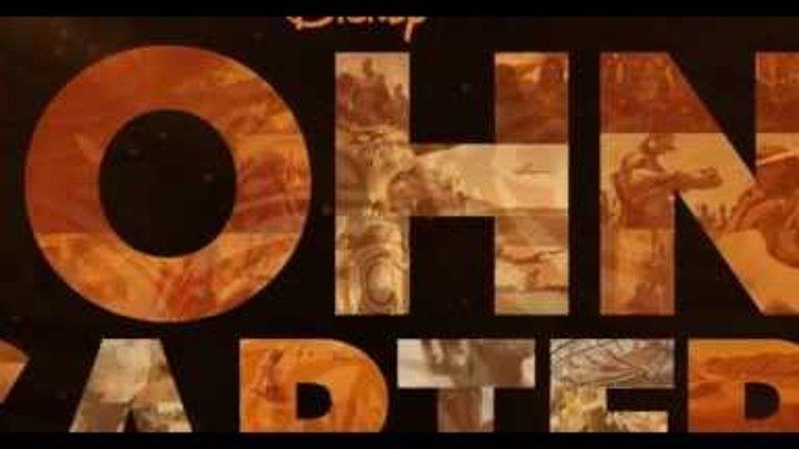 John Carter - New Extended Superbowl Spot   Official Disney 2012 Trailer   HD