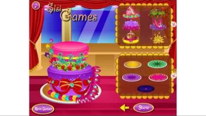 Братц Игры— Братц Готовим Красивый Торт—Онлайн Видео Игры Для Девочек 2015 Мультик