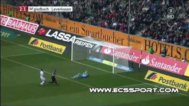 Боруссия М 2 : 2 Байер | Чудо-гол Андре Шюррле!