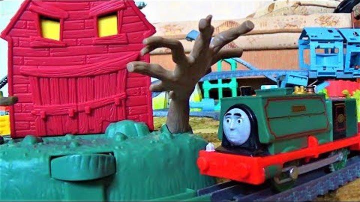 Паровозик томас и его друзья - Железная дорога и поезда - игрушки для мальчиков - видео для детей