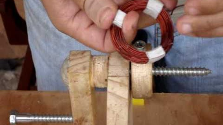 How to build a homemade coil for a P.M.A generator. (wind turbine, hydroelectric)