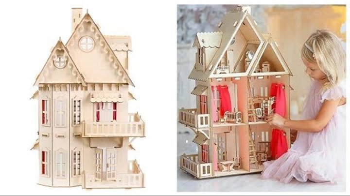 Кукольный домик для куклы барби
