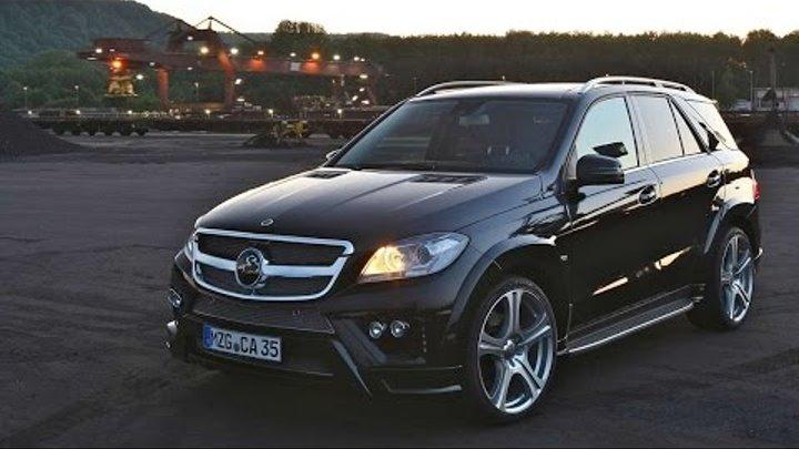 #1134. Carlsson CD35 Mercedes Benz M class W166 2012 (Концепт и тюнинг)
