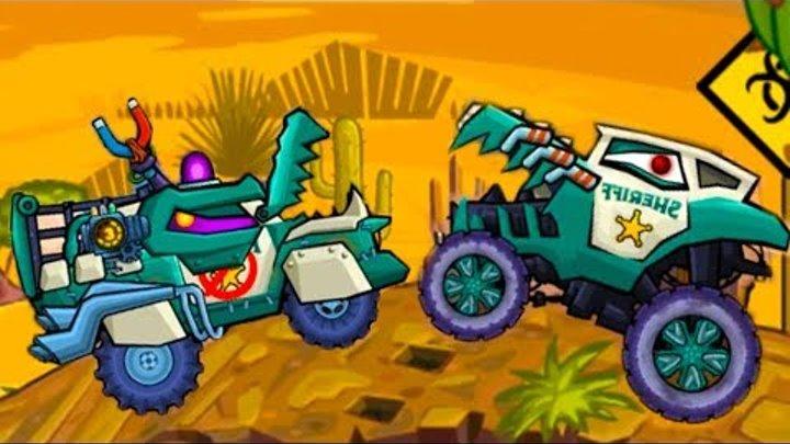 Car Eats Car 3 Машина ест машину Хищные машины #38 про машинки как мульт в Drive Ahead #МАШИНКИКИДА