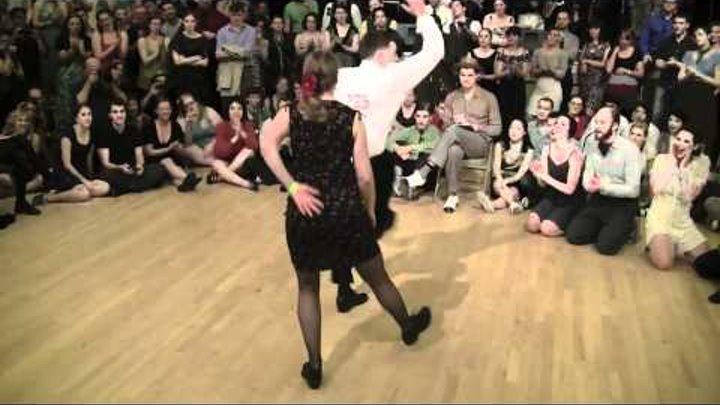 2012 Camp Jitterbug - Lindy Hop Couples Finals - Jam