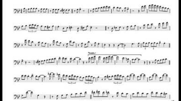 Delfeayo Marsalis 'Autumn Leaves' Trombone Solo Transcription