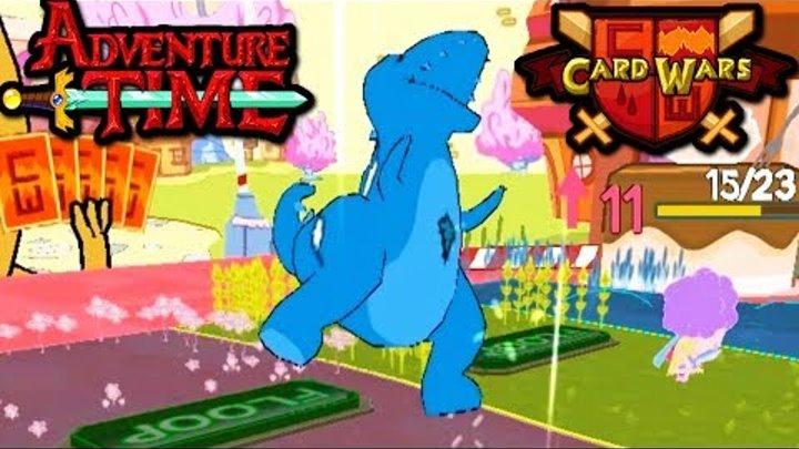 Card Wars: Adventure Time - Dinosaur Destroyer! Algebraic Chest Episode 20 Gameplay Walkthrough App