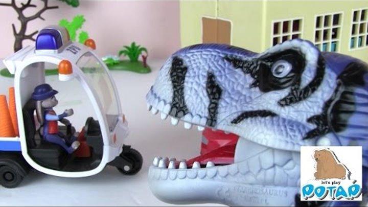 Динозавры Сбежали из Парка Юрского Периода и Напали на Зверополис! Мультик про Динозавров