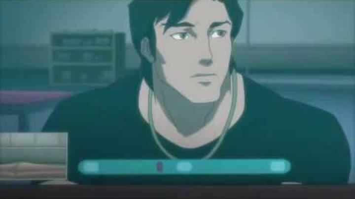 Старфаер розговаривает с Диком Грейсоном по Skype (Лига справедливости против Юных титанов 2016)