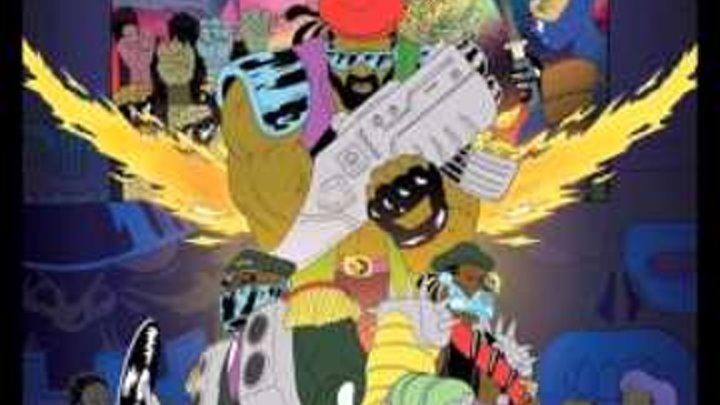Major Lazer - Jet Blue Jet (feat. Leftside, GTA, Razz & Biggy)