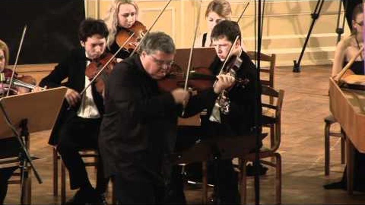 J.S. Bach - Concerto E-dur for violin and strings, BWV 1042 - III
