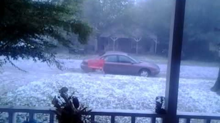 June13,2012 East Dallas Hail Storm