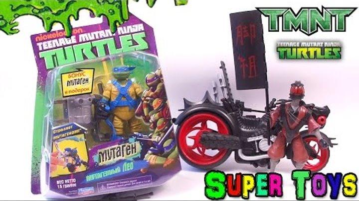 Черепашки Ниндзя: обзор игрушки Леонардо с мутагенной катапультой/Teenage Mutant Ninja Turtles toys