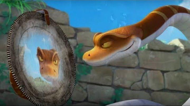 Маугли - Книга Джунглей - Король Каа👑🐍 –развивающий мультфильм для детей