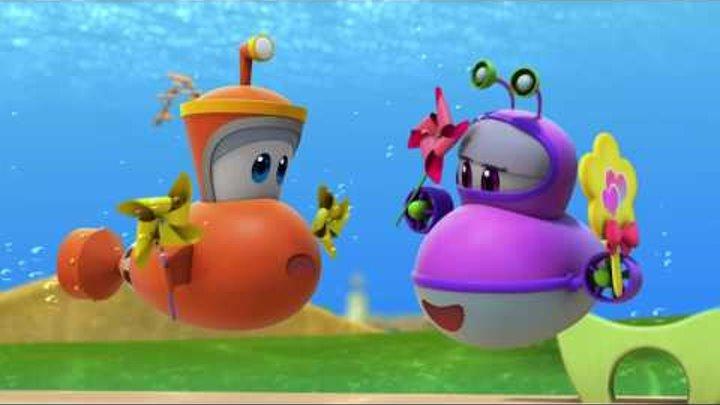 Марин и его друзья - Подводные истории - Уколы - это страшно - Новый мультик для детей