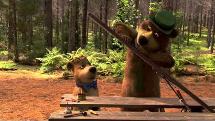Медведь Йоги 3D Оригинальный звук