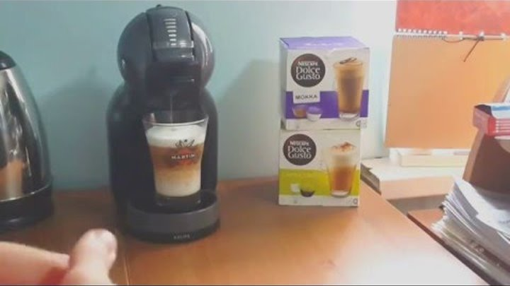 Nescafe Dolce Gusto Krups Mini Me Black