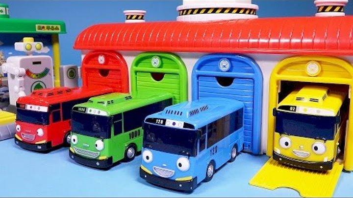 Мультик про машинки, тайо маленький автобус с друзьями 3 cartoon.