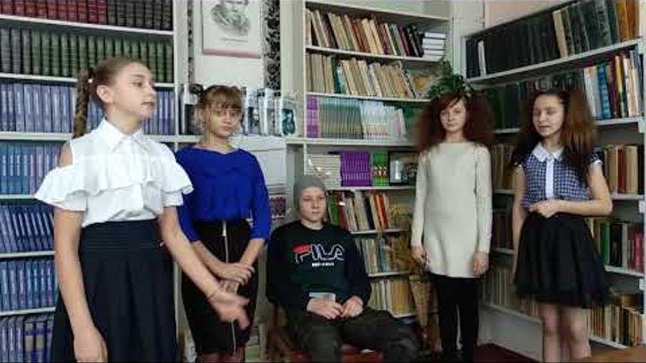 """Агітбригада """"Із книгою у XXI століття"""" Шилівська ЗОШ"""