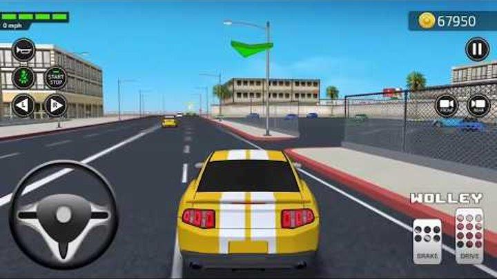 Академия вождения симулятор 3D Часть #3 от Games2win андроид игры | гонки машины видео