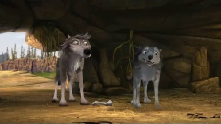 Альфа и Омега 2: Приключения праздничного воя (2013) - Русский трейлер мультфильма