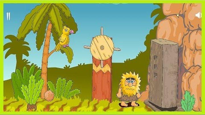 Адам и Ева 3 серия| Приключения,головоломка, мультик аниме!ADAM AND EVE