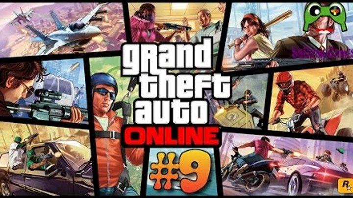 GTA Online серии №9 и 10 - Побег из тюрьмы