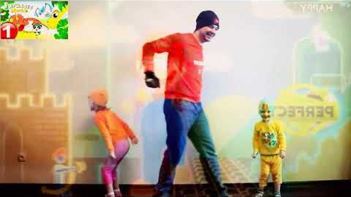 Just Mario Just Dance Лучший Танец Марио дети и родители 2016 Видео игра для детей андроид Обзор игр