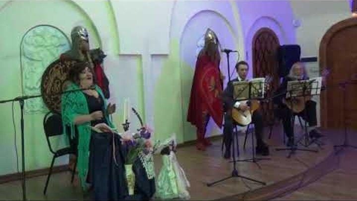 Юлия Гудникова поёт русские романсы (1 часть).