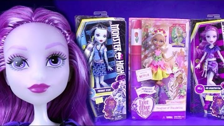 New Monster High Dolls Collection 2016 First Day of School Doll Review Unboxing Ever After High Doll