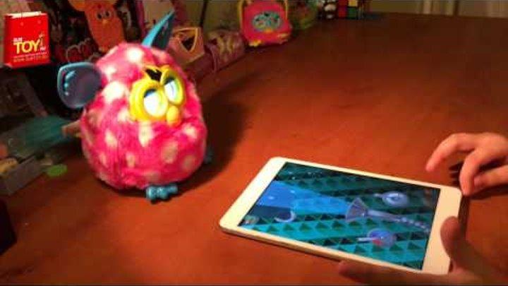 Furby Boom (Ферби Бум) говорит по русски от Анны на subtoy.ru