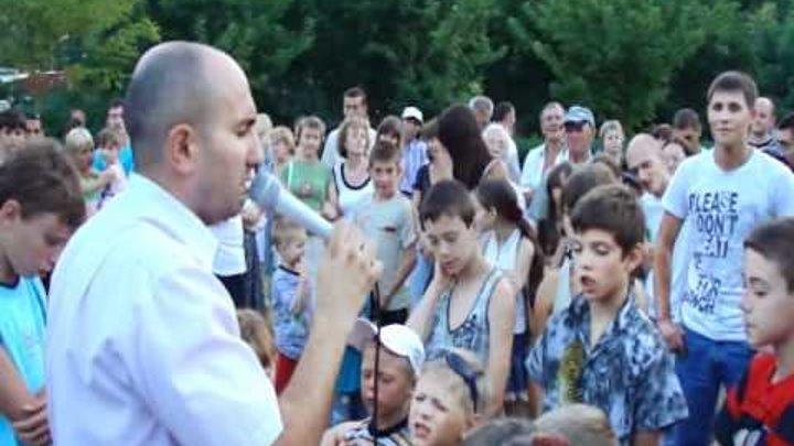 Молитва покаяния г.Одесса, поселок Котовского 05.07.10