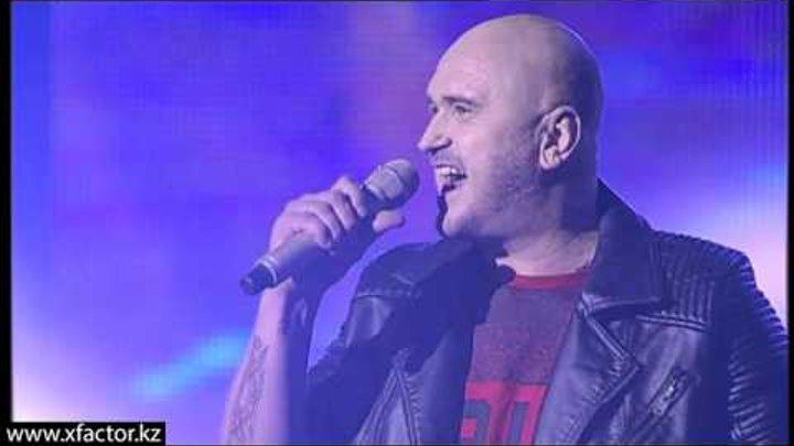 Андрей Зарецкий. Pink - Perfect. X Factor Казахстан. Первый концерт. Эпизод 10. Сезон 6.