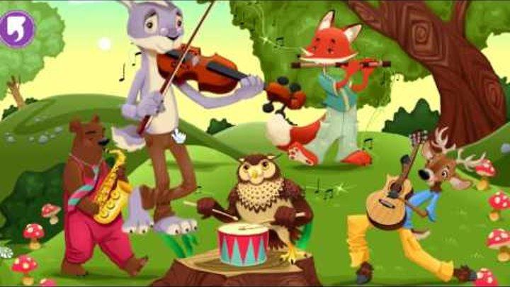 Урок для детей - музыкальные инструменты на английском языке
