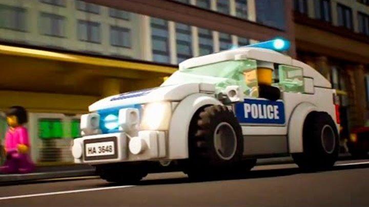 МАШИНКИ. Мультики про МАШИНКИ. LEGO City - Полиция | Серия 1