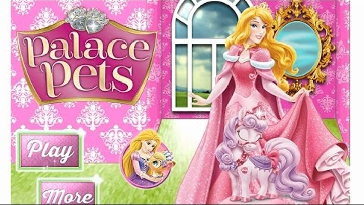 NEW Игры для детей—Disney Принцесса Аврора питомец—Мультик Онлайн Видео Игры для девочек