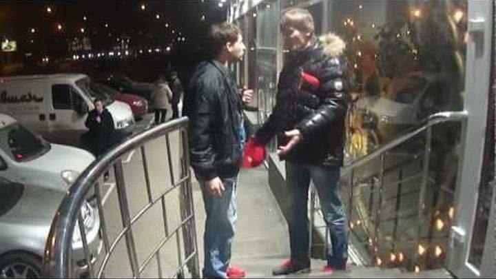 Toxa Rastma на съемках сериала на НТВ